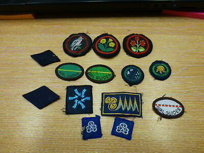 Mixed Guide Badges  Some new some used