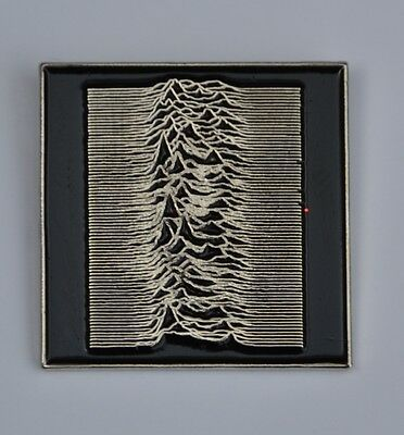 Joy Division Unknown Pleasures Enamel Pin Badge