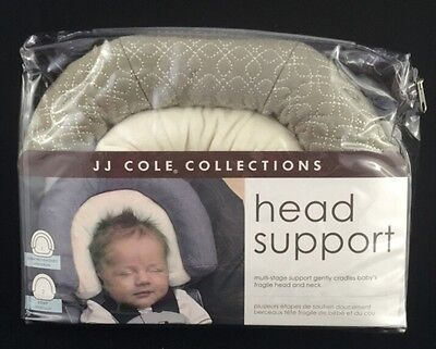 JJ Cole Collections Head Support, Graphite, Unisex, New, Free Shipping