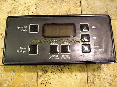 No-USA-Import-Charges - GE Manufactured Range Electronic Timer 225C1070P008
