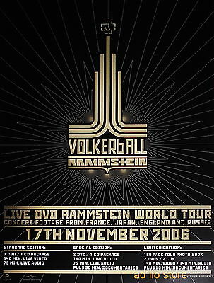Rammstein - World Tour Swedish Advert 2006