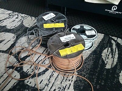 3 x reels welding cable