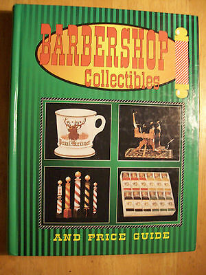 BARBER SHOP PRICE GUIDE COLLECTOR'S BOOK Barbershop Chair Straight Razor Mugs