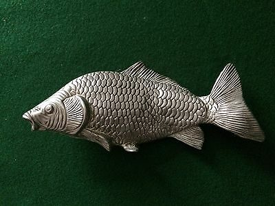 Silver Colour Metal Letter Holder / Menu Holder In A Shape Of Fish ~ Lqqk