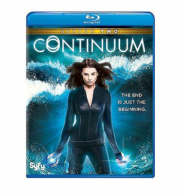 CONTINUUM - COMPLETE SEASON 2 - BLU RAY  - Sealed Region free