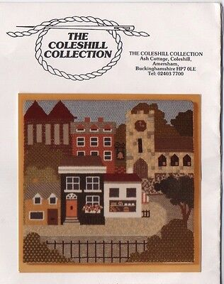 The Coleshill Collection 'County Town' Stitched Picture Needlework Kit