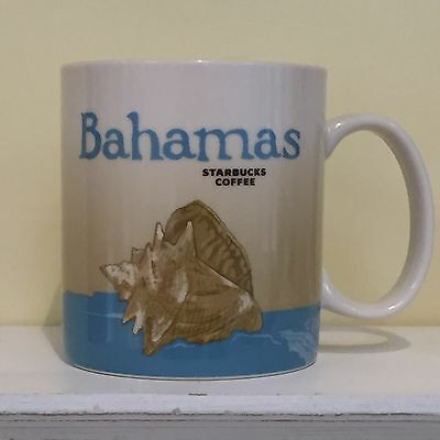 NEW STARBUCKS COFFEE City Mug BAHAMAS 2012 Collector Series Global Icon Cup 16oz