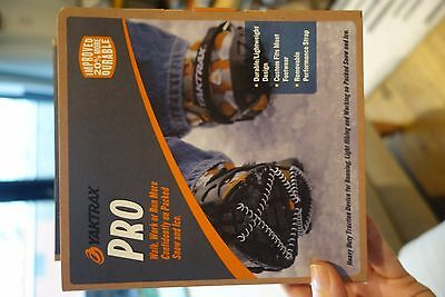Yaktrax Pro Crampons Size Small and Large