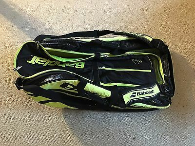 Babolat Pure Aero tennis racket bag - carries up to 12 rackets