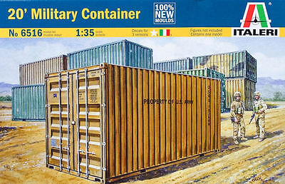 Italeri 20' Military Container - Decals inlcuse - Scala 1:35 - Item 6516