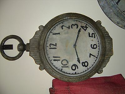 Antique Watch Trade Sign Advertising