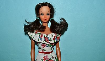 Vintage Barbie - Steffie with Rooted Lashes on Malibu Body, Best Buy Dress #9160
