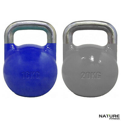 Nature Fitness 16kg & 20kg Package Competition Pro Grade Kettlebell Training New