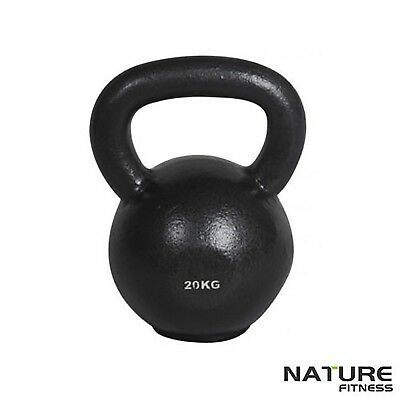 Kettlebell Weight Set Nature Fitness 16KG 20KG 24KG - Home Gym Training Exercise