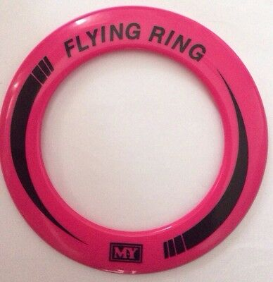 pink  Flying Ring Frisbee NEW