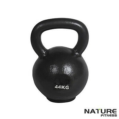 Nature Fitness 44kg Russian Classic Kettlebell Gym Kettle Bell Weights New