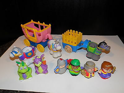 Fisher Price Little People LiL'Kingdom Castle accessories loaded