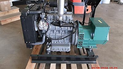 25KW Single Phase 120/240 continuous home Kubota Diesel Generator Set