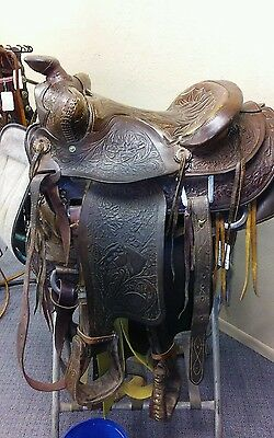 BONANZA BIG HORN COLLECTORS  SADDLE....Reduced for quick sale..!