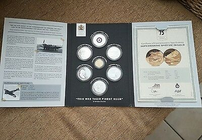 The Officical Battle of Britain 75th anniversary commemorative coin/medals