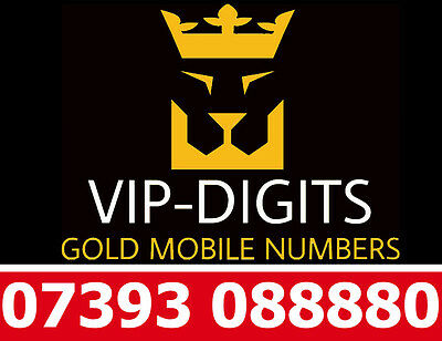 07393 088880 Vip Gold Easy Iphone Platinum Good O2 Mobile Phone Number Sim