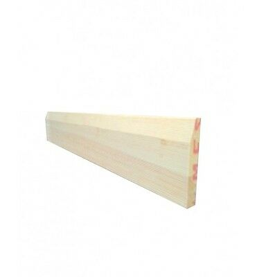 *Solid Pine**Chamfered**Skirting Board*Quality Material**Great Price**