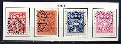 Latvia nice mixed collection 1923-25 ,stamps as per scan(2437)