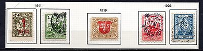 Lithuania nice mixed collection 1919-23 ,stamps as per scan(2440)