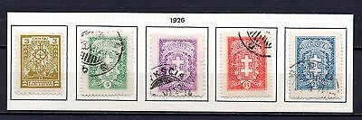Lithuania nice mixed collection 1926 ,stamps as per scan(2441)