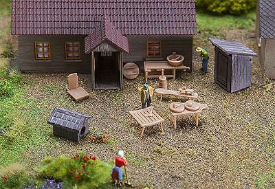 Faller Countryside Accessory Kit 180449 HO Scale (suit OO also)