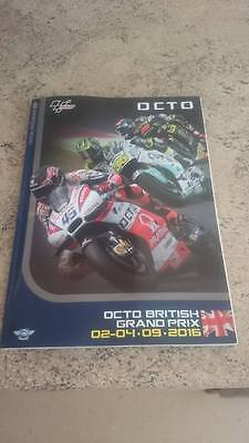 Official  Moto GP Silverstone 02-04 Sept 2016