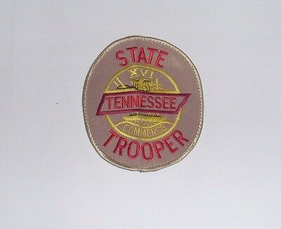 Police Patch Tennessee State Trooper, USA