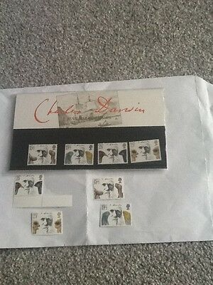 Royal Mail Mint Stamps_Charles Darwin_1982 +Extra Mint Stamps_