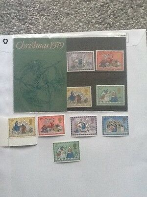 Royal Mail Mint Stamps_Christmas 1979_ +Extra Mint Stamps_