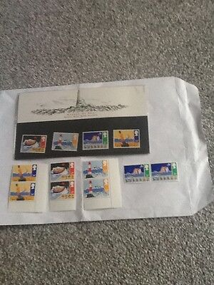 Royal Mail Mint Stamps_Safety At Sea-1985 +Extra Mint Stamps_