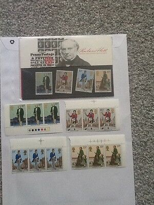 Royal Mail Mint Stamps_Sir Rowland Hill_ 1979 + Extra Mint Stamps_