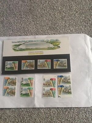Royal Mail Mint Stamps_Urban Renewal-1984 +Extra Mint Stamps_
