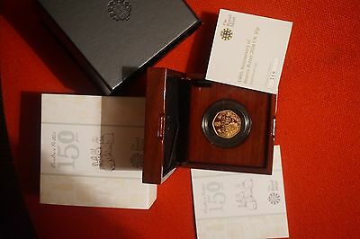 Beatrix Potter Gold Proof 50p  Very rare ,mintage only 750.