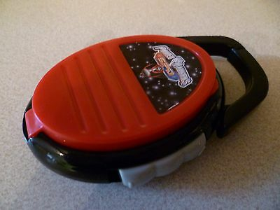 Mc Donalds Toy Power Rangers SPD Morpher opens with Sounds hooks on