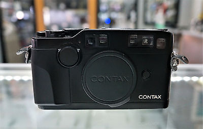 Contax G2 35mm Rangefinder Film Camera Body Only BLACK