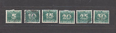 Poland 1938 Postage Dues Used Selection