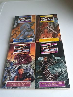 Doctor Who The New Adventures TIMEWYRM Complete Set