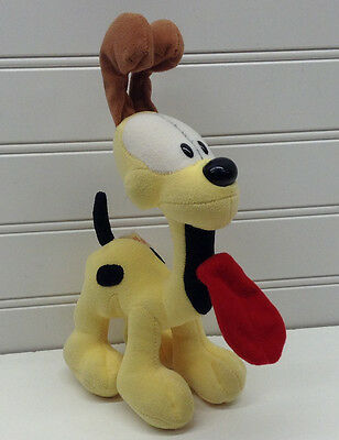 "Garfield the Cat Odie Dog 9"" Plush Ty Beanie Baby Stuffed Animal"