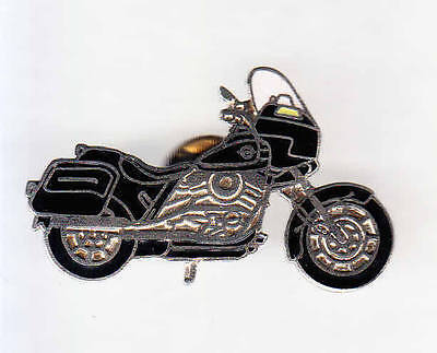 Rare Pins Pin's .. Moto Motorcycle  Anglaise Noire Black ~A4
