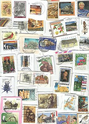 British Commonwealth Stamps - 200 Different Guaranteed