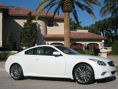 2012 Infiniti G37 UNHEARD OF ELDERLY OWNED LOW MILEAGE CAR 2012 INFINITI G37 COUPE-THE FINEST FOR SALE IN THE COUNTRY-ONLY 3,275 MILES !!