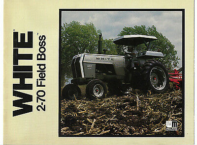 1970's White 2-70 Field Boss Tractor Brochure