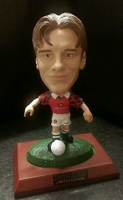 **RARE - BOXED ** Headliners DAVID BECKHAM Manchester United Figure
