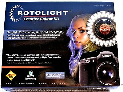 Rotolight RL48 Creative Color Kit V2  URBEX PHOTOGRAPHERS-OUTSTANDING CONDITION!