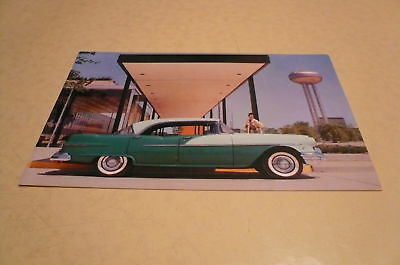 Pontiac 870 Four Door Catalina Postcard Vintage